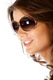Beautiful woman with sunglasses Royalty Free Stock Image