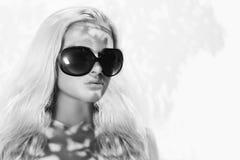 Beautiful woman in sunglasses Royalty Free Stock Photos