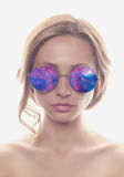 Beautiful woman in sunglasses Stock Image