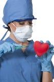 Beautiful Woman Surgeon Royalty Free Stock Images