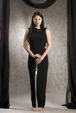 Beautiful woman with a sword Royalty Free Stock Photo