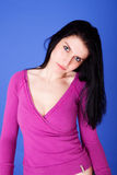 Beautiful woman thoughtful Royalty Free Stock Photography