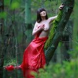 Beautiful woman topless Royalty Free Stock Image