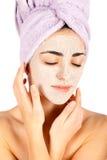 Facial Clay Mask Stock Photos