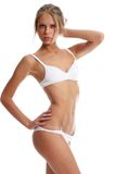 Beautiful woman in underwear Royalty Free Stock Images