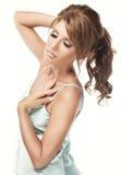 Beautiful woman in underwear Royalty Free Stock Photos