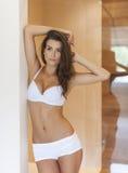 Beautiful woman in underwear Stock Photography