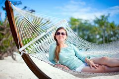 Beautiful woman on vacation Royalty Free Stock Photo