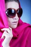 Beautiful woman wearing sunglasses Stock Images