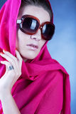 Beautiful woman wearing sunglasses Royalty Free Stock Photo