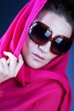 Beautiful woman wearing sunglasses Royalty Free Stock Photos