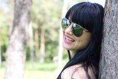 Beautiful woman wearing sunglasses Royalty Free Stock Photo