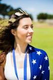 Beautiful woman wearing wreath Royalty Free Stock Photo