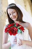 Beautiful Woman at Wedding Stock Images