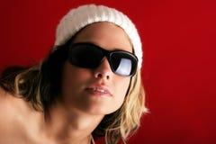 Beautiful woman in winter Royalty Free Stock Image