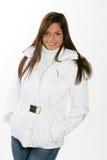 Beautiful woman,winter fashion Stock Images