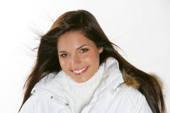 Beautiful woman,winter fashion Royalty Free Stock Photography