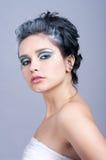 Beautiful woman with winter style Stock Photo