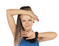 Free Beautiful Woman With Braids Royalty Free Stock Images - 12513899