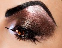 Beautiful womanish eye Royalty Free Stock Photo
