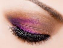 Beautiful womanish eye Royalty Free Stock Image
