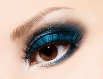 Beautiful womanish eye Royalty Free Stock Photos