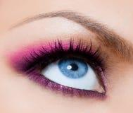 Beautiful womanish eye Stock Photography
