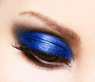 Beautiful womanish eye Stock Images