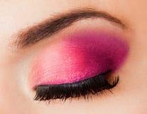 Beautiful womanish eye Royalty Free Stock Images