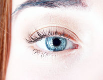Beautiful womanish eye Royalty Free Stock Photos