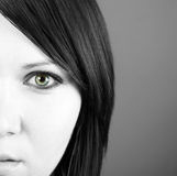 Beautiful woman�s face Royalty Free Stock Photography
