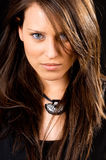 Beautiful womans portrait Stock Image