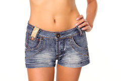 Beautiful womans waist Stock Images