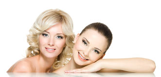 Beautiful women Stock Photography