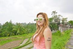 Beautiful women in Bali Stock Image