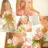 Beautiful women Stock Images