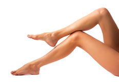 Beautiful women legs Stock Photo