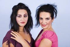Beautiful women makeup stock image