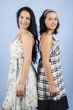 Beautiful women models stock photography