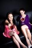 Beautiful women at a party Stock Photos