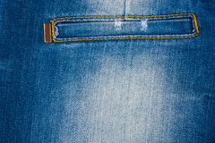 Beautiful women's jeans with a pocket Stock Photography