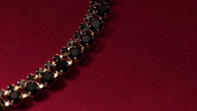 Beautiful women's jewelry Royalty Free Stock Photos