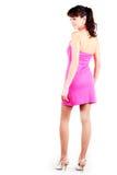 Beautiful women in short dress Stock Image