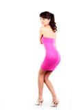 Beautiful women in short dress Royalty Free Stock Photo