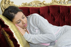 Beautiful women sleeping Royalty Free Stock Image