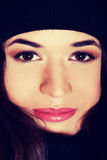 Beautiful womna's face. Royalty Free Stock Photo