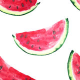 Beautiful wonderful bright colorful delicious tasty yummy ripe juicy cute lovely red summer fresh dessert slices of watermelon Royalty Free Stock Images
