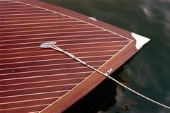 Beautiful Wood Boat Royalty Free Stock Photos