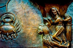 Beautiful wood carvings on misericords Stock Photography