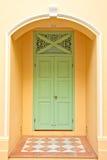 Beautiful wood door Stock Images